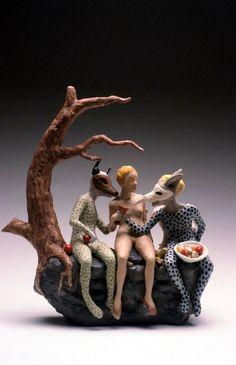 Carrieanne Hendrickson – Goblin Market ( Teapot).