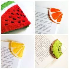 Easy DIY Projects: Corner Bookmarks – Keep up with the times. Felt Bookmark, Bookmark Craft, Diy Bookmarks, Corner Bookmarks, Origami Bookmark, Bookmark Ideas, Felt Crafts Diy, Easy Diy Crafts, Diy Crafts For Kids