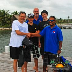 Oscar Winning Director Ang Lee visited Belize to research bioluminescence for Life of Pi.