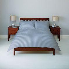 Buy John Lewis Satin Stripe Bedding Online at johnlewis.com