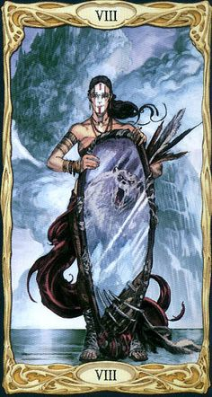 Love this card!  Sjows what true strenght means- Strength - Epic Tarot