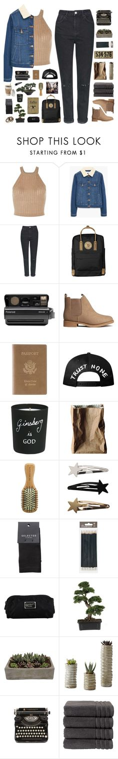 """ And all the roads we have to walk are winding, and all the lights that lead us there are blinding. "" by centurythe ❤ liked on Polyvore featuring MANGO, Topshop, Fjällräven, Polaroid, H&M, Royce Leather, Bella Freud, Rosenthal, The Body Shop and SELECTED"