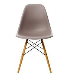 EAMES DSW CHAIR MAUVE WITH MAPLE BASE