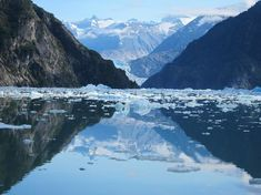 Tracy's Arm Fjord and glaciers, Juneau, Alaska