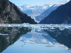 Tracy's Arm Fjord and glaciers, Juneau, Alaska