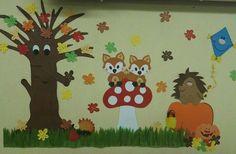Fall Classroom Decorations, Kindergarten Classroom Decor, School Decorations, Autumn Activities For Kids, Fall Crafts For Kids, Preschool Activities, Art For Kids, Autumn Leaves Craft, Autumn Crafts