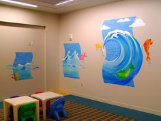 "www.JMS-ART.com  Pediatric Waiting Room - ""3 if-by-SEA"" by jms artist, via Flickr"