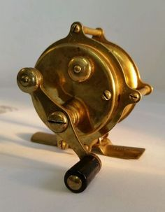 Vintage Fly Fishing Reel   Antique Brass 1888 Hendryx Trout Fly Lure Fishing Reel #80   What's it ...