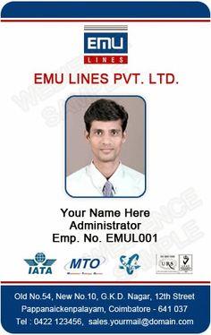 ID Card Templates Free