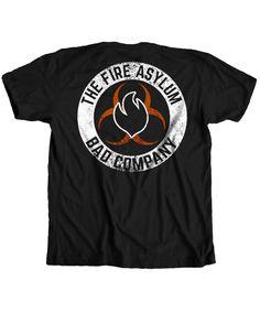 The Fire Asylum - Bad Company Logo Tee