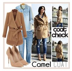 """COAT CHECK"" by yvettemmh ❤ liked on Polyvore featuring Lipsy"