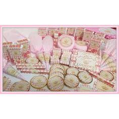 Candy Bar Princesas Corona Dorada Golosinas Personalizadas - $ 128,70