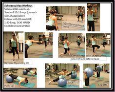 Schweaty May workout