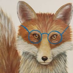 Mr. Fox #AcrylicPainting Tutorial LIVE Saturdays at 2pm CT on YouTube #angelafineart