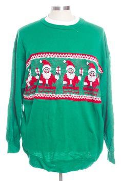 Green Ugly Christmas Sweatshirt 30331