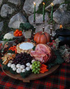 Macbeth Halloween party feast