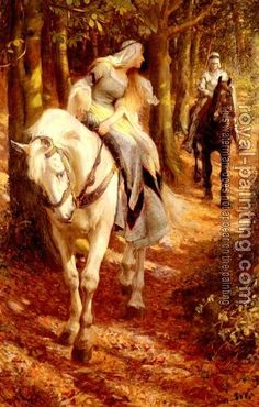 Enid and Geraint by Rowland Wheelwright (the earliest written Arthurian Romance recorded AD 1170)