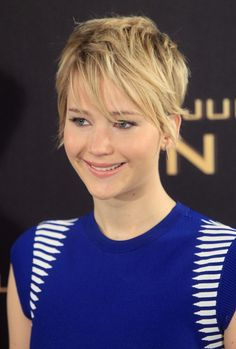 I'm in love with her, and her short hair.