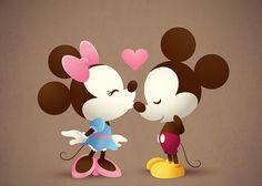 mickey y minnie love - Buscar con Google