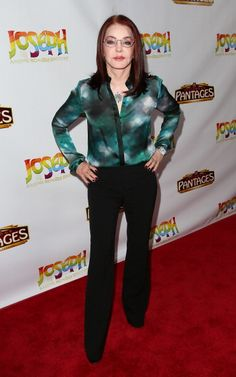 Actress Priscilla Presley attends Los Angeles opening night of 'Joseph and the Amazing Technicolor Dreamcoat' at the Pantages Theatre on June 4 2014...