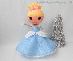 Lalaloopsy Clothes  Cinderella  Princess by AndLittleLambsEatIvy, $30.00