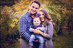 Family fall portrait at Appleford Estate | Villanova, PA | Copyright 2015 Aliza Schlabach Photography | ByAliza.com