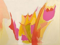 "Abstract Acrylic 30"" x 38"""