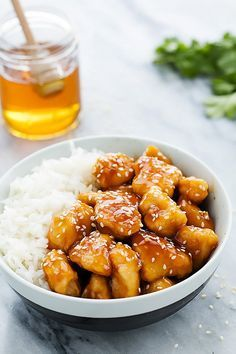 Throw the ingredients for this Honey Sesame Chicken into the slow cooker in the morning and it'll be ready to serve by the time the whole family is home.