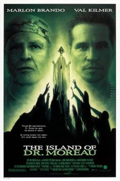 The Island of Dr. Moreau (1996) movie #poster, #tshirt, #mousepad, #movieposters2