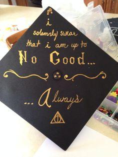 Graduation Cap HP Style