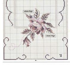 Cross Stitch Boarders, Cross Stitch Heart, Cross Stitch Flowers, Cross Stitching, Cross Stitch Embroidery, Embroidery Patterns, Cross Stitch Patterns, Book Markers, Pattern Books