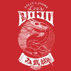Double Dragon: Jimmy red t-shirt.