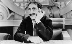 """""""Remember, you're fighting for this woman's honour, which is probably more than she ever did.""""  Duck Soup (1933)"""