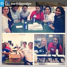 """For Lynn's """"Alternative Spring Break"""", several students spent the week in Tampa volunteering at Metropolitan Ministries, a non-profit organization that brings hope to families in poverty. #lynn4life #alternativespringbreak #volunteer"""