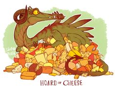 Lauren Dawson - Meet The Dragons Who Hoard Cheese And Stuffed Animals Instead Of Gold