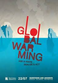 Global warming poster. A rough idea of what my IA1 poster would be about.