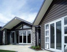 Modern house colours nz House modern