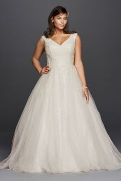 This classic ball gown wedding dress is one for the ages 9f279faf6a43