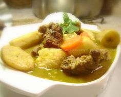 Dominican Sancocho, SANCOCHO - Mari's Cakes (English)