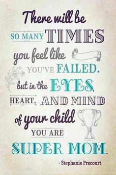 Encouragement.... I was recently reminded of this...pure love for my 3...now 6 children!