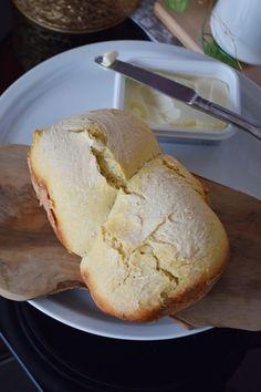 Λευκό Ψωμί με Αρτοπαρασκευαστή - Craft Cook Love Bread, Food, Brot, Essen, Baking, Meals, Breads, Buns, Yemek