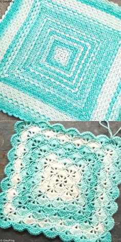 Beautiful Shell Blanket Free Crochet Pattern. I absolutely love all the colors in this blanket, because they are so vibrant and eye pleasing, right? Moreover, shells blanket is a really simple stitch, that every beginner will be able to do. Amazing!  #freecrochetpattern #baby #blanket Crochet Shell Blanket, Free Baby Blanket Patterns, Crochet Baby Blanket Free Pattern, Crochet Shell Stitch, Crochet Stitches, Crochet Afghans, Baby Afghans, Simple Crochet Blanket, Preemie Crochet