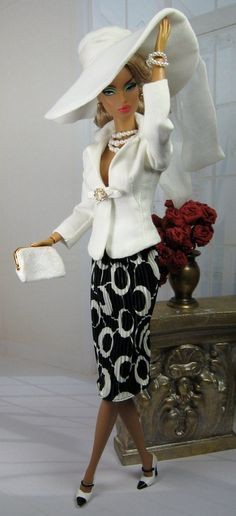 Classic Barbie Black and white outfit