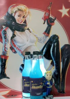Fallout Nuka Cola Quantum Coming Game Release Day