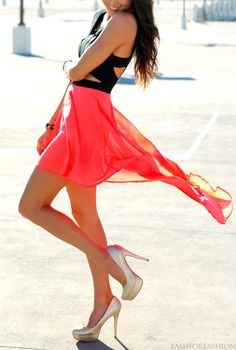 Beautiful long pink skirt. Beautiful #Somersets Legs! Get them here: http://www.somersetsusa.com/product.php?productid=5=1=1