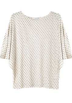 Tsumori Chisato Dotted Slouch Sleeve Top | La Garçonne Cool Outfits, Fashion Outfits, Womens Fashion, Diy Tops, Urban Chic, Dressmaking, Size Clothing, Spring Summer Fashion, Passion For Fashion
