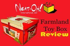 Cherry Blossom Love: Neat-Oh!® ZipBin® Farmland™ Toy Box {Review}