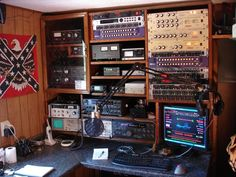 Ham Radio Shacks | Older WZ5Q shack. | Amateur Radio