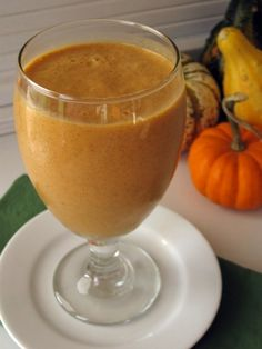 gluten free,sugar free pumpkin pie smoothie recipe