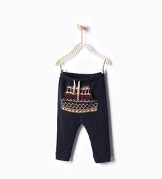 Jacquard pocket trousers - Trousers - Baby boy - Baby | 3 months - 3 years - KIDS | ZARA United States